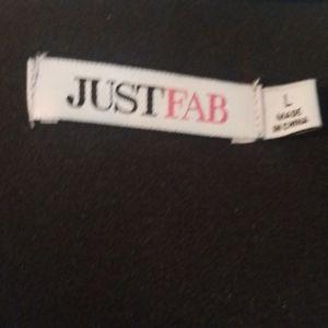 JustFab Dresses - Justfab cold shoulder dress